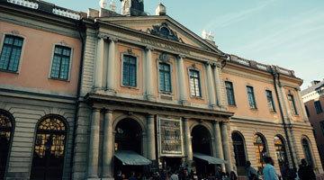 探访瑞典诺贝尔博物馆