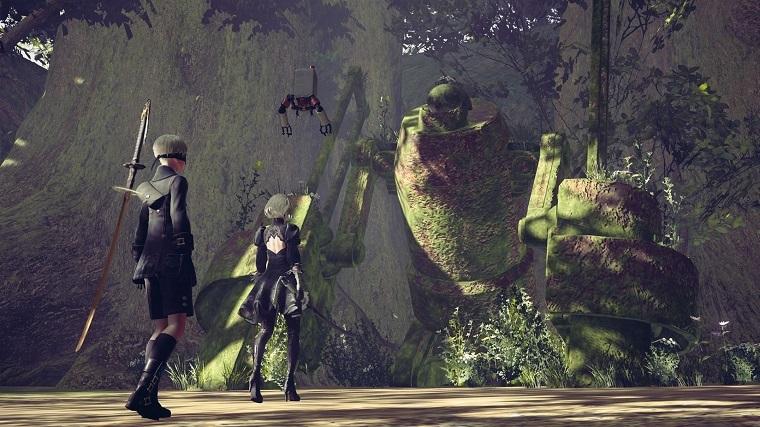 《尼尔:机械纪元》游戏画面