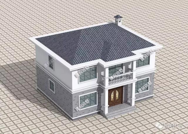 一栋别墅很大的两层别墅楼盘,让无数建房人为农村魅力万科浦东图片
