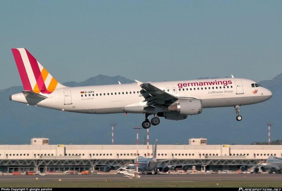 一架空客320飞机在法国坠毁