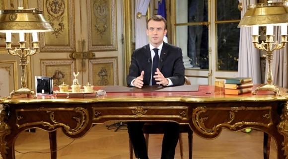 马克龙宣布法国进入经济紧急状态