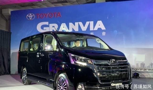丰田全新MPV曝光,长5米3,比埃尔法霸气,配4个独立航空座椅