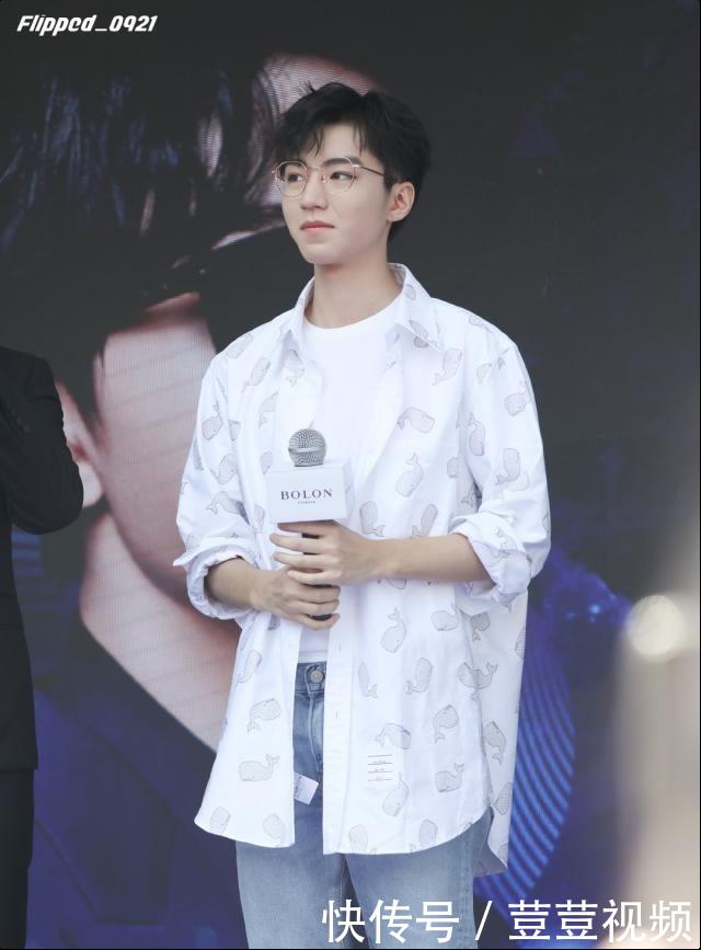 王俊凯零宣传参加新活动看看让密集恐惧症颤抖的现场粉丝飘了