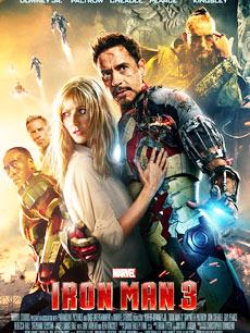《钢铁侠3》电影海报