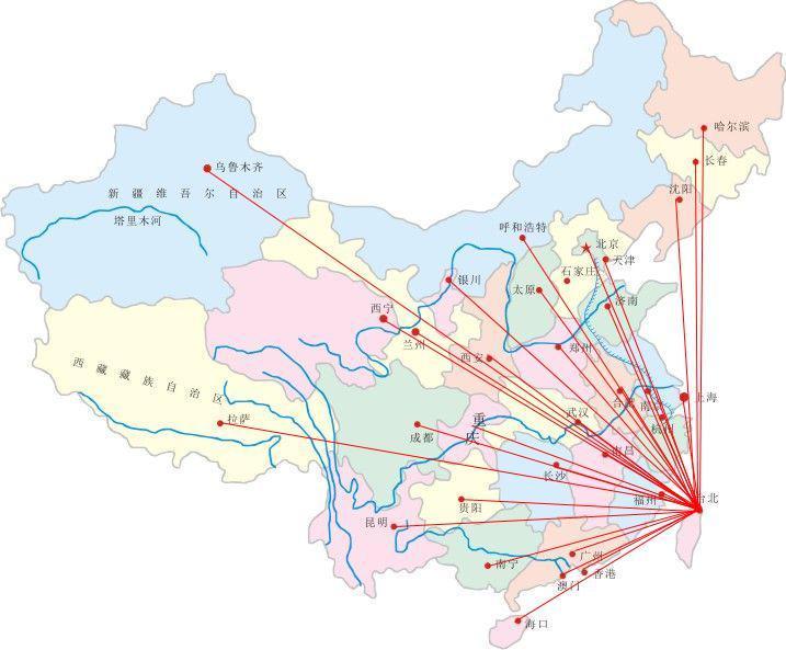 中国地图 广州深圳