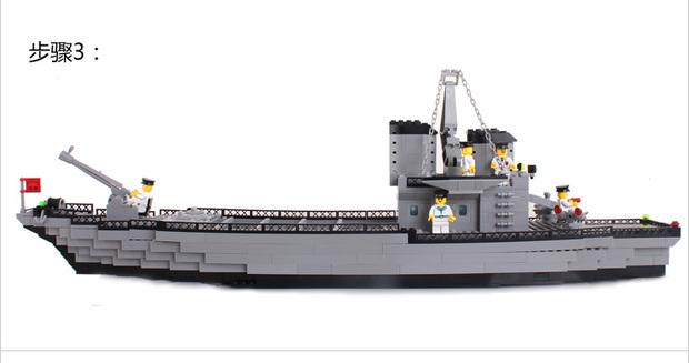 乐高112巡洋战舰怎么拼?或者发一张拼的说明书