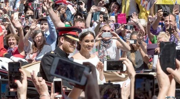 英国哈里王子婚礼掠影