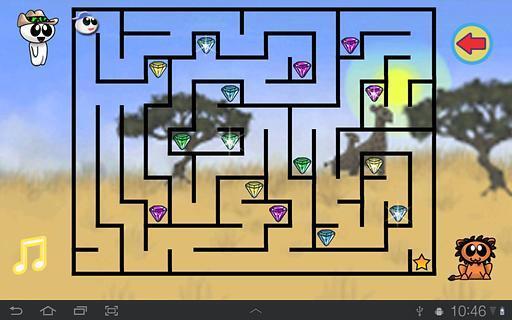 有趣的儿童迷宫游戏免费