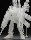 HG全装备独角兽高达独角模式透明纪念版