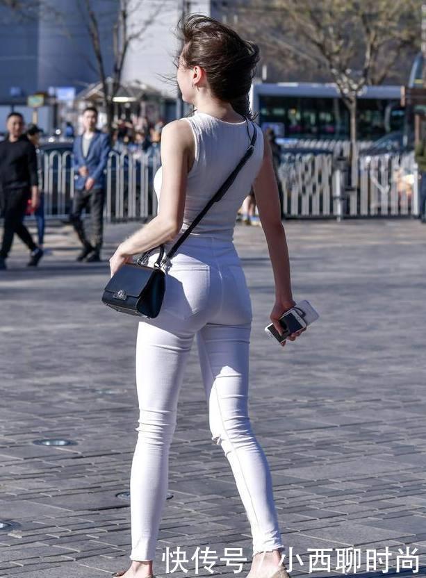 意气风发打底裤美女,穿出紧致身材,彰显柔美气息!!插图