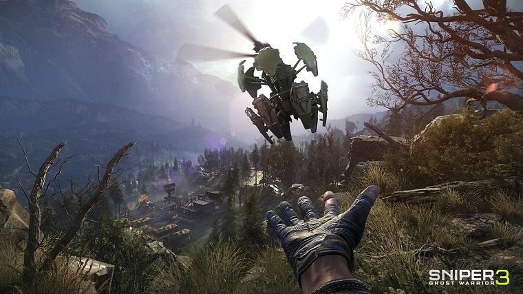 《狙击手:幽灵战士3》游戏画面(图片来自官方)