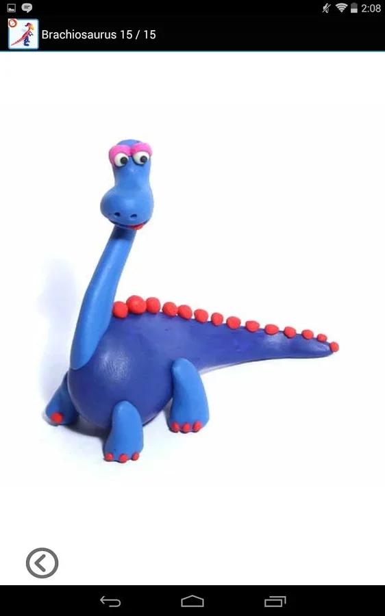 因此,让我们创建恐龙粘土或橡皮泥,你会更好地理解它的世界.
