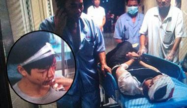 广州天河发生砍人事件 男子追砍8名街坊