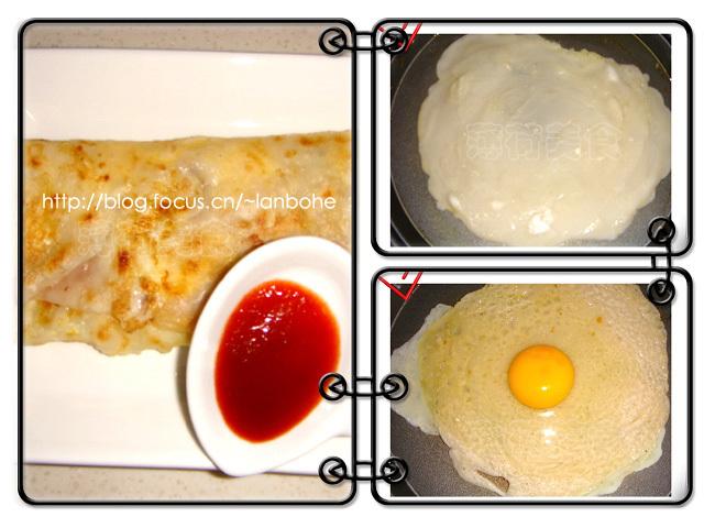 (图3右下) 3 煎饼馃子制作过程图解