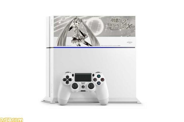 索尼推出初音未来主题PS4