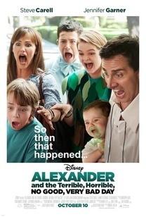 《亚历山大和他最糟糕的一天》海报