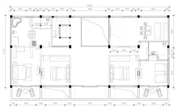 宅基地建房设计图分享展示
